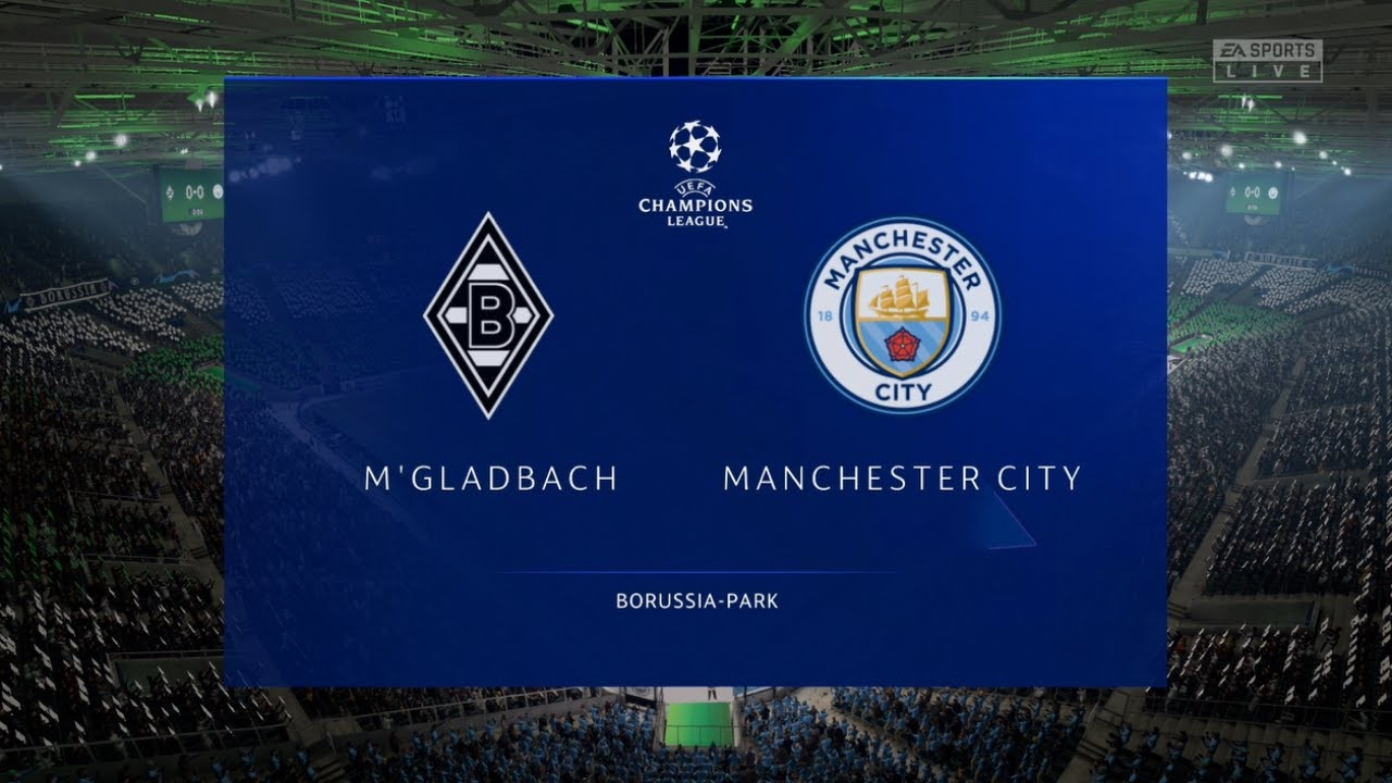 Monchengladbach vs Manchester City | UEFA Champions League 2020/2021  Prediction - YouTube