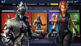 Fortnite ShopFortnite Shop 27.4.19 | Arachne und Spinnenritter Skins! | Avengers Black Widow Set !🤑😱