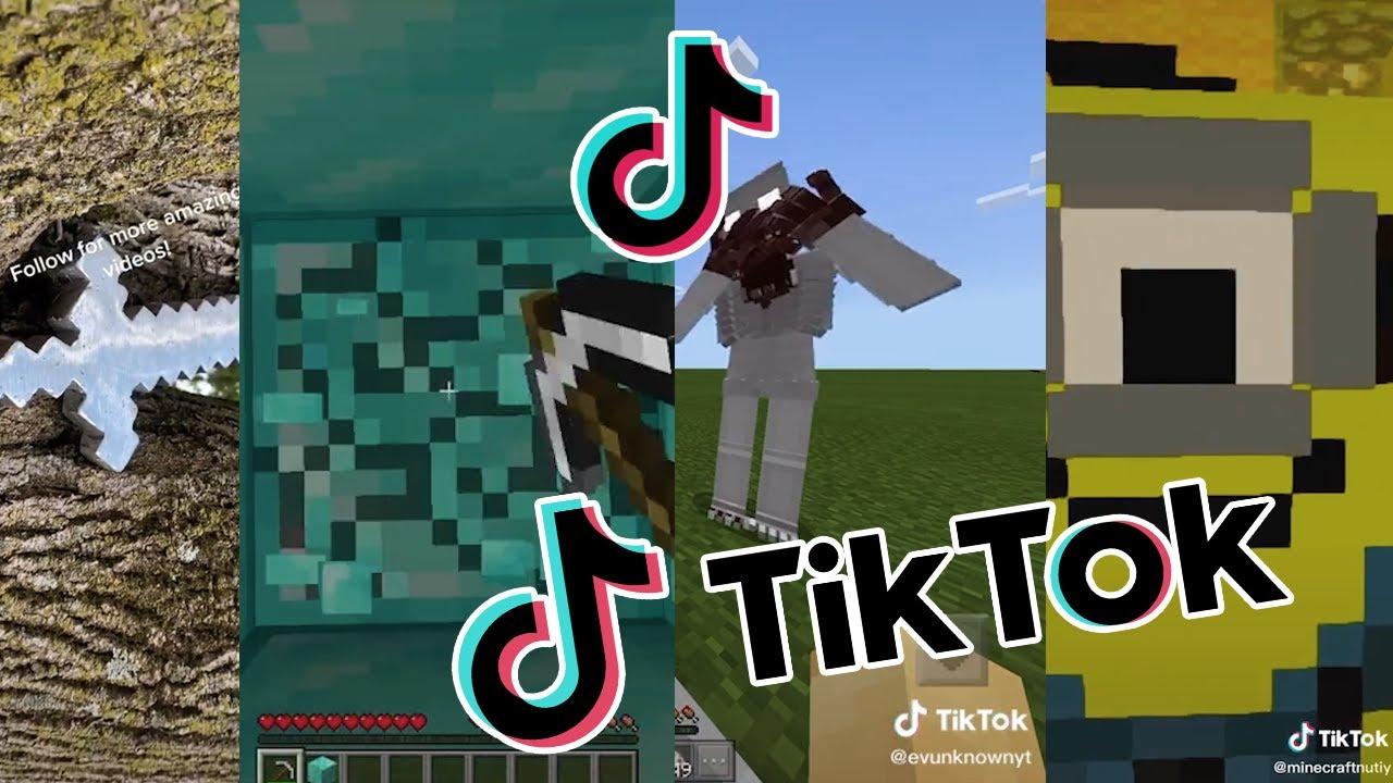 TikTok: Minecraft COMPILATION (BEST OF)