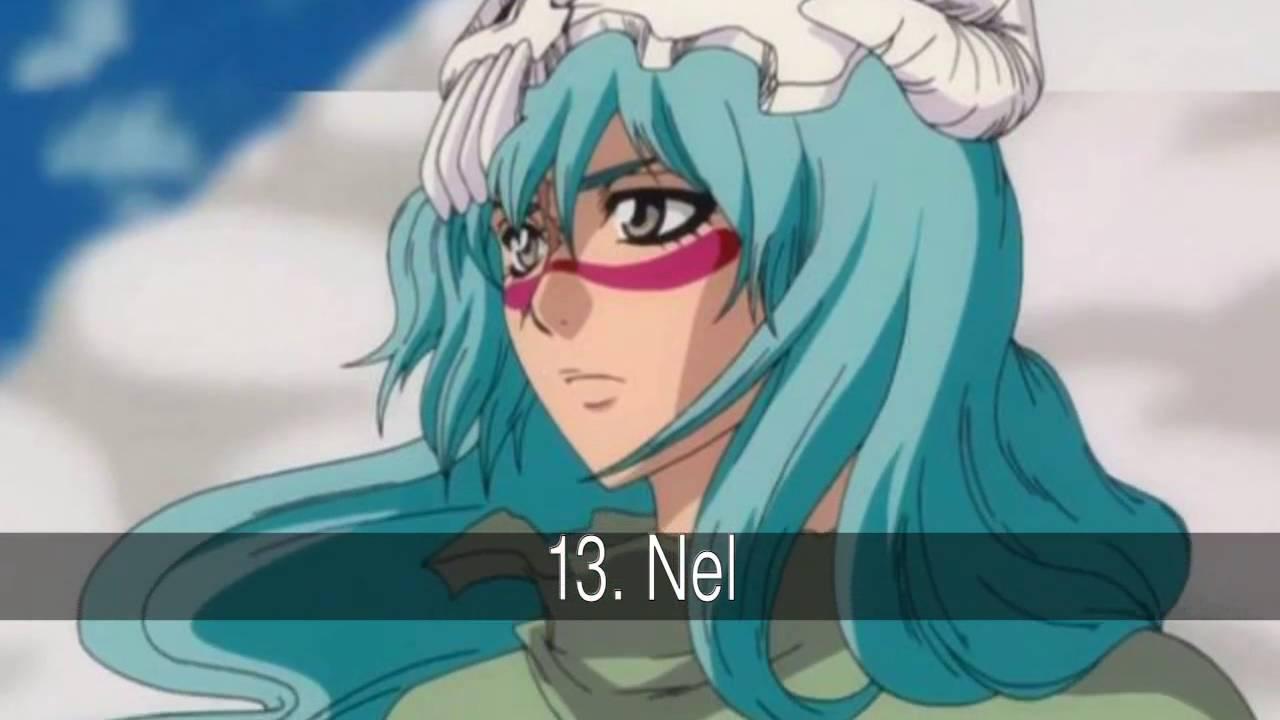 Chicas Anime Con Cabello Azul