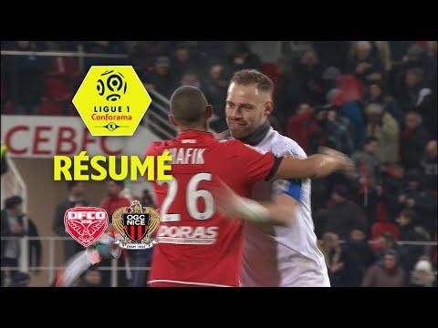 Dijon FCO - OGC Nice (3-2)  - Résumé - (DFCO - OGCN) / 2017-18