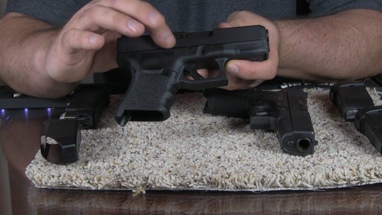 Glock 30S Subcompact  45 ACP Pistol Introdution and Range Review Part 1