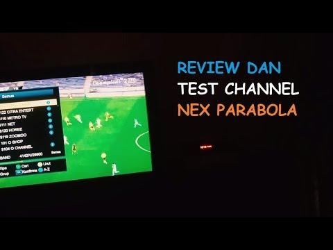 Review Dan Test Channel Receiver Digital NEX PARABOLA || #VLOGNEX2