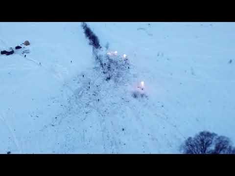 РЕН ТВ публикует новые кадры с места крушения Ан 148, снятые с коптера ren tv chunklist via Skyload