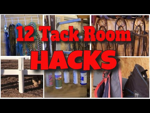 12 Tips And Projects For Having An Organized Tack Room