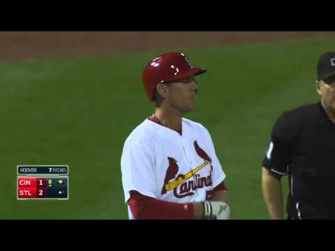 CIN@STL: Peter Bourjos reaches 19 8 MPH to score from first