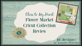ctmh flower market cricut collection new