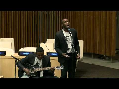 The Ben (Musical part) - 20th Commemoration of the Genocide in Rwanda at UN Headquarters in New York