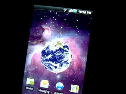 SAMSUNG GALAXY 3 GT i5800 / i5801 RUNNING LIVE WALLPAPERS