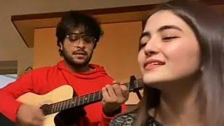Asim Azhar and Merub Ali Cute Moments - YouTube