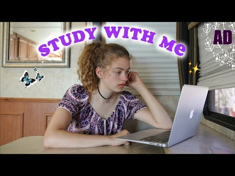 Summer Study With Me (yep, just for fun...!) + hear me speak French 🤷‍♀️