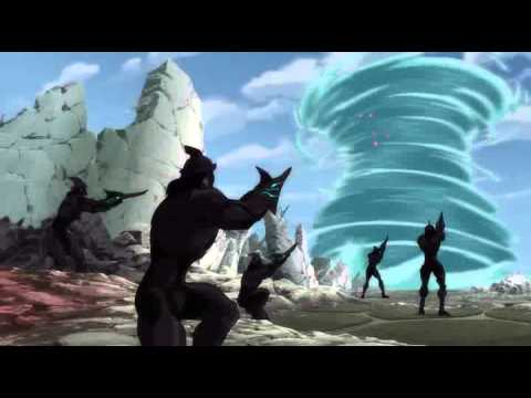 Justice League: Throne of Atlantis: Battle