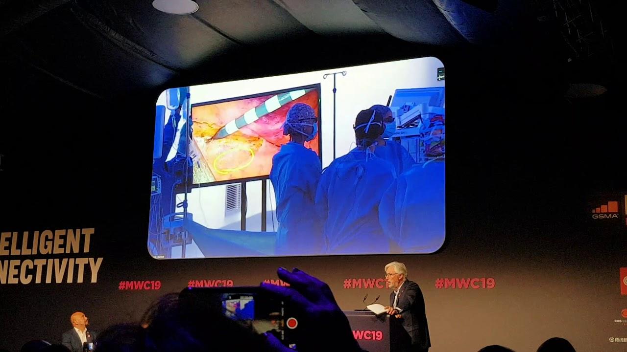 Primeira cirurgia do mundo feita com telementoria via 5G