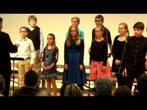 "Merton Intermediate Encore Choir ""Budapest"" by George Ezra"