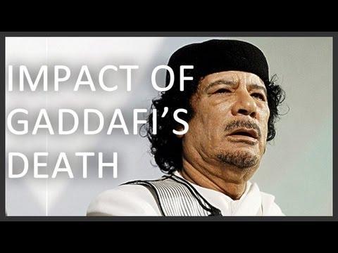 What does Gaddafi's death mean for Libya?