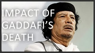 What does Gaddafi