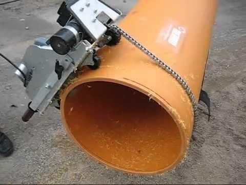Gut bekannt Kunststoffrohre trennen u anfasen in einem Arbeitsgang Pipecutter YW19