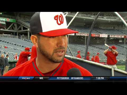 Rafael Martin sits down with Johnny Holliday to discuss his major league debut