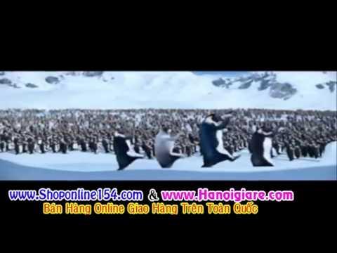 bước nhảy đẹp của chú chim cánh cụt