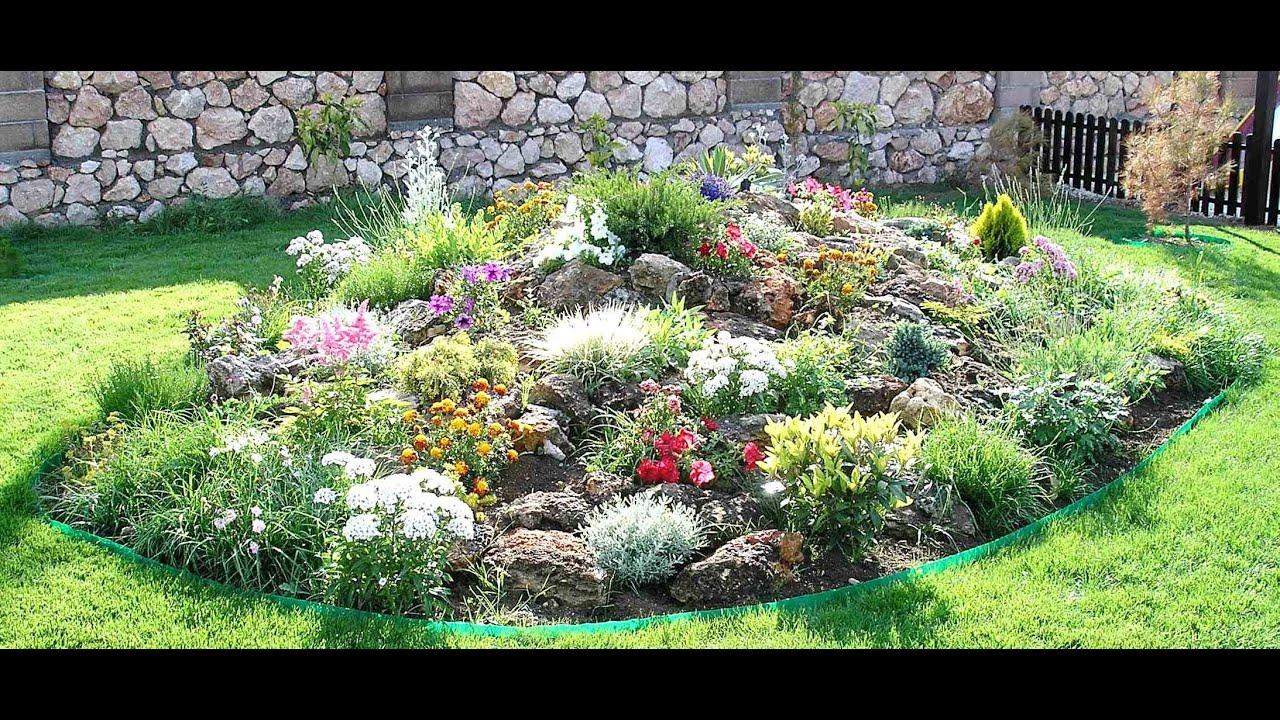 Альпийская горка своими руками виды фото растения и как