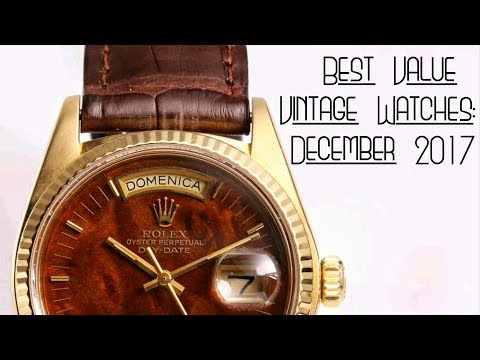 Best Value Vintage Watches: December 2017