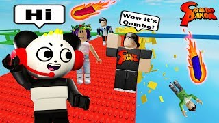 Let's Play ROBLOX with MY FANS! Combo plays BRICK BATTLE with Combo Crew!