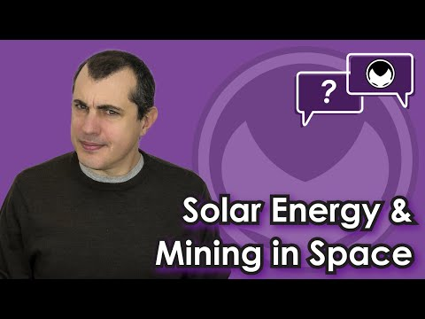 Bitcoin Q&A: Solar Energy & Mining In Space