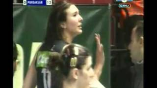 Scary Volleyball Injury: Naz Aydemir & Kim Yeon Koung Collide
