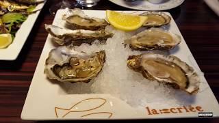 Рестораны Парижа.  Где недорого поесть морепродукты.  La Criée.