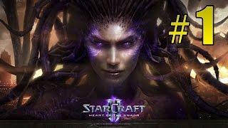 Прохождение Starcraft 2: Heart of the Swarm - Лабораторная крыса #1