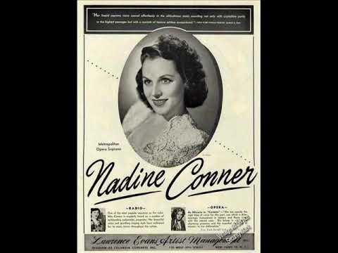 NELSON EDDY SINGS   - NEARER AND DEARER with NADINE CONNOR 1947