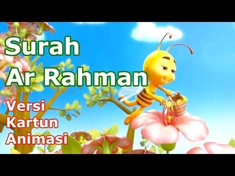 Ar Rahman Versi Kartun Animasi || Ar Rahman Murottal Quran Anak