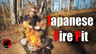 Japanese Fire Pit - Snow Peak Pack and Carry Fireplace Review