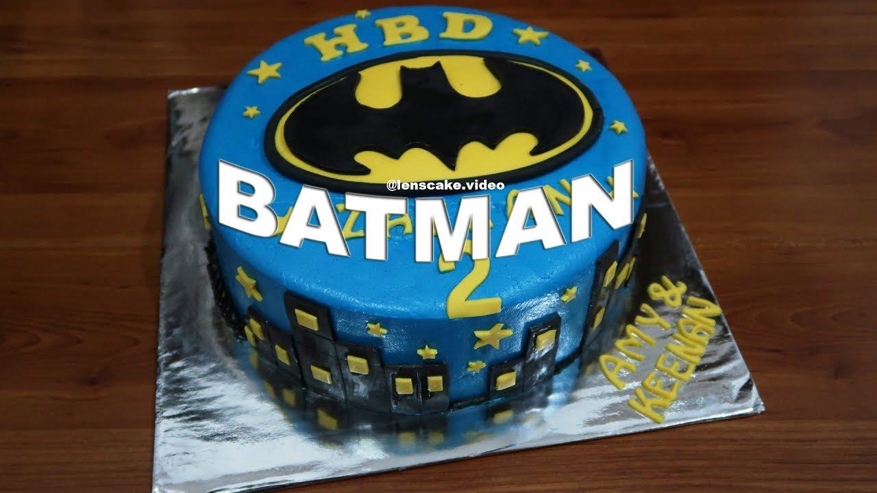 Cara Membuat Kue Ulang Tahun Sederhana Batman Resep Kue