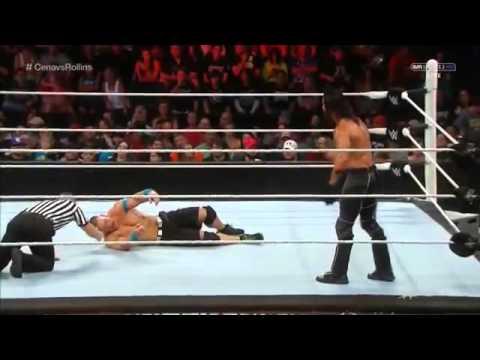 WWE Raw John Cena Vs Seth Rollins United States Championship Match