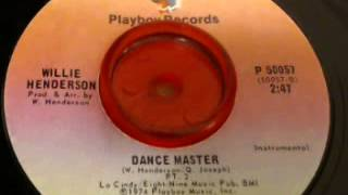 Willie Henderson-Dance Master Instrumental