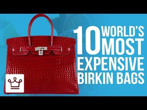 Top 10 Most Expensive Birkin Bags
