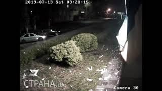 Появилось видео выстрела из гранатомета по каналу 112 | Страна.ua