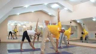 Видео урок по йоге | Yoga Exercises.wmv