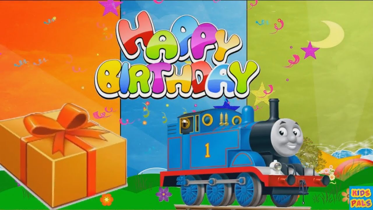 Happy Birthday Song With Thomas The Tank Engine Happy