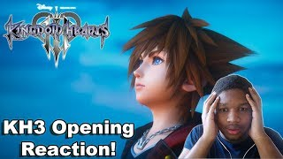 Kingdom Hearts 3 - Opening Trailer Reaction!