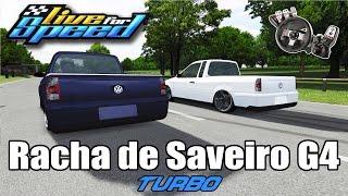 Live For Speed - Rolê de Saveiro G4 Turbo 2kg ft. ZoiooGamer e Pulseirinha (G27 mod)