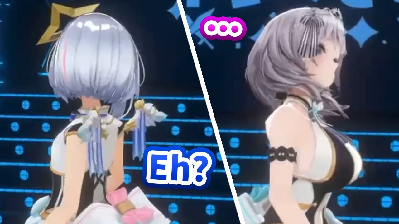 Noel turns her back on Kanata immediately after she asks for the best friend pose [Hololive/Eng sub]
