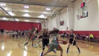 Ria Gulley 2013 AAU highlights, Class of 2016, Clark HS, SA, TX.  AAU for Crossover Basketball