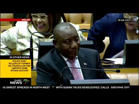 Parliament Elect Cyril Ramaphosa A New President Of South Africa