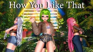 [MMD] BLACK PINK | How You Like That | Gumi, Haku, Miku, Luka