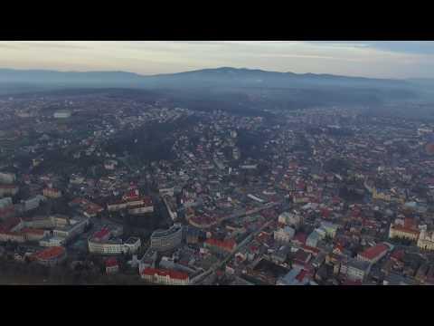 видео: Красивый город  Ужгород.Часть 1 Съемка дроном dji phantom 3 pro