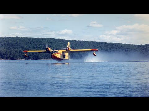 Canadair CL-215 First Flight Anniversary