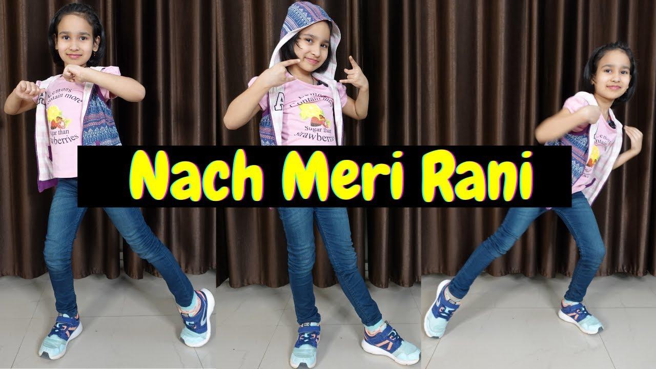 Naach meri rani dance steps easy   | #LearnWithPari #Dance