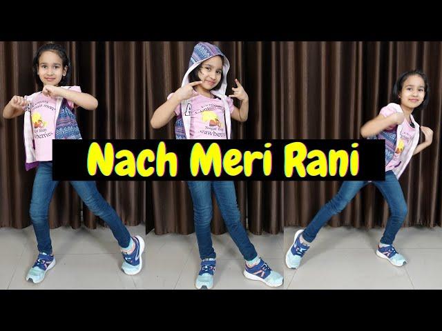 Naach meri rani dance steps easy   | #LearnWithPari #Dance